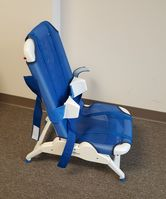 Item Rifton Blue Wave Bath Chair.